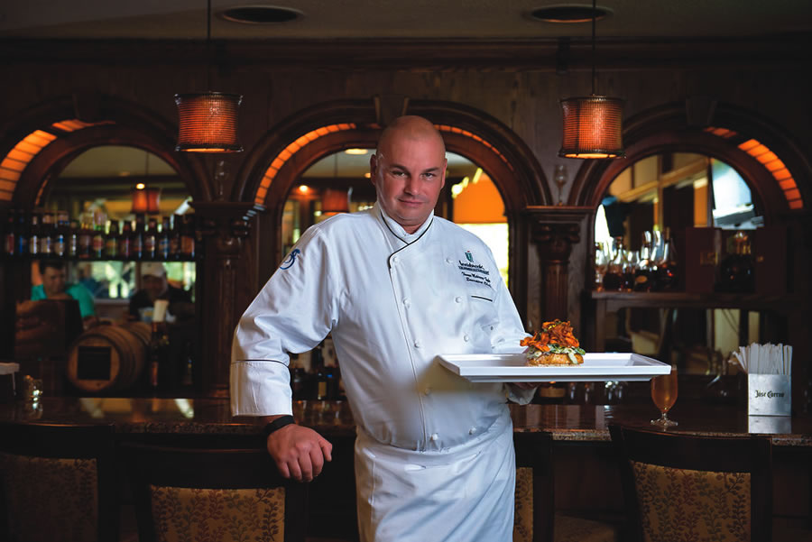 Innisbrook Resort Executive Chef Thomas McKinney-Stehr | Photo by Corey Conroy Photography