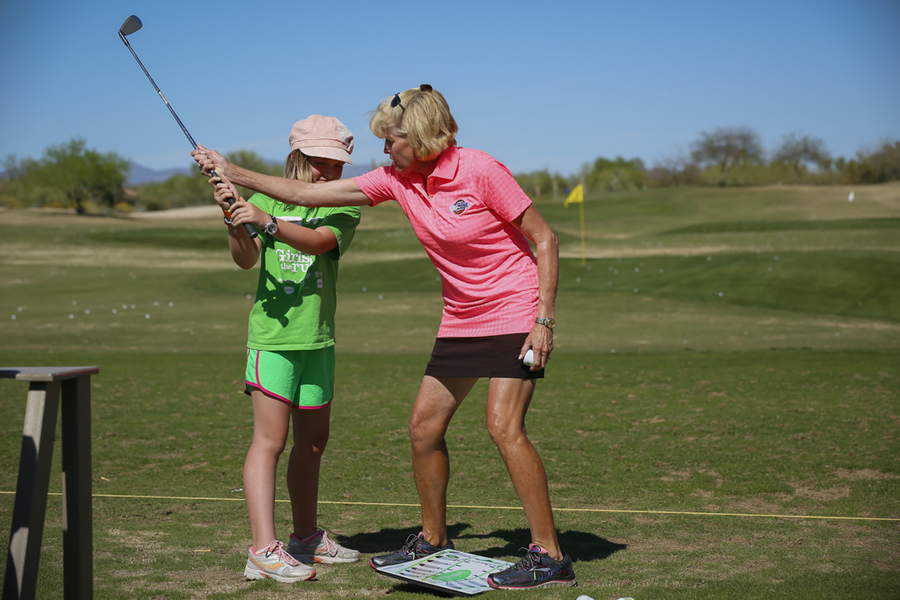 Sandy LaBauve is an esteemed LPGA instructor. | Photo by Gabe Roux