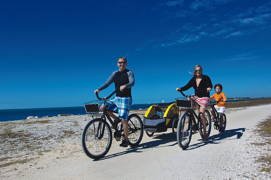Hammock Beach's coastal location offers plenty of cycling opportunities.